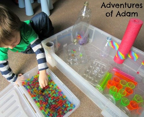 Adventures of Adam How to make a water bead station