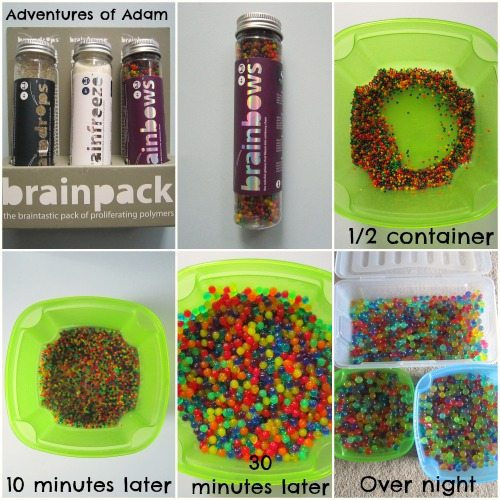 Adventures of Adam How to make water beads