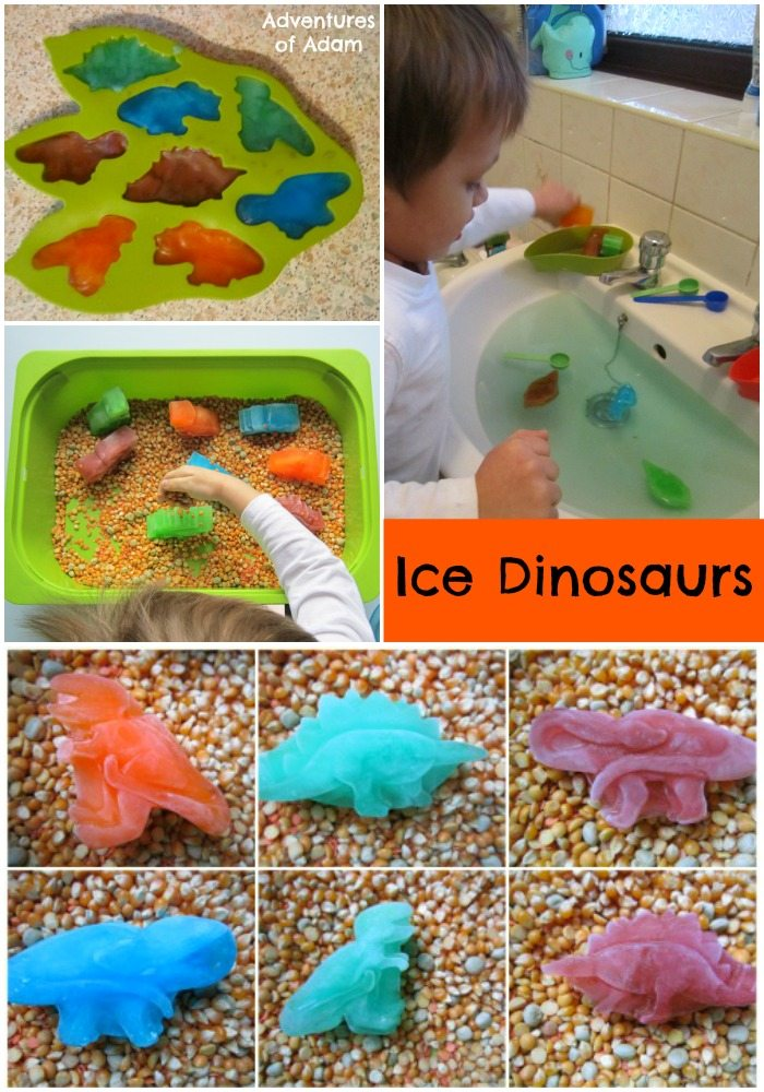 Adventures of Adam ice dinosaurs
