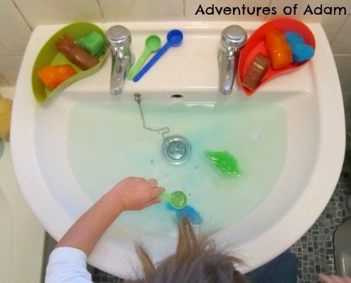 Adventures of Adam Ice dinosaurs water play