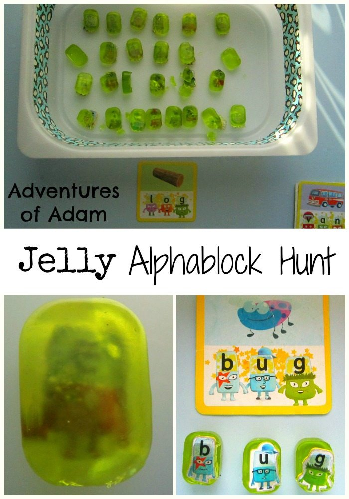 Adventures of Adam Jelly Alphablock Hunt Adventures of Adam