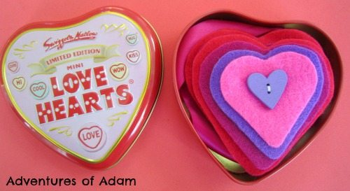 Adventures of Adam Love Hearts Busy Bag