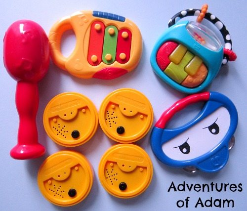 Adventures of Adam Matching musical instrument sounds