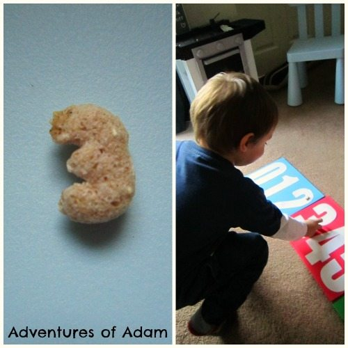 Adventures of Adam Matching number cereal