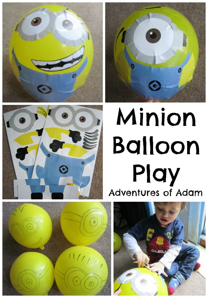 Minion Balloon Play Adventures of Adam
