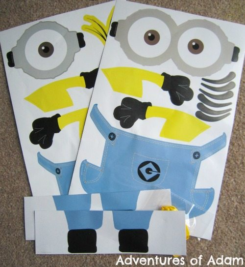 Adventures of Adam Minion balloon kit
