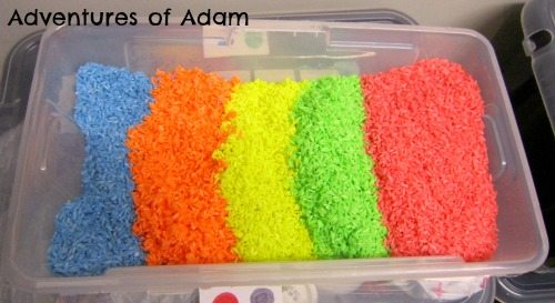 Adventures of Adam neon rice