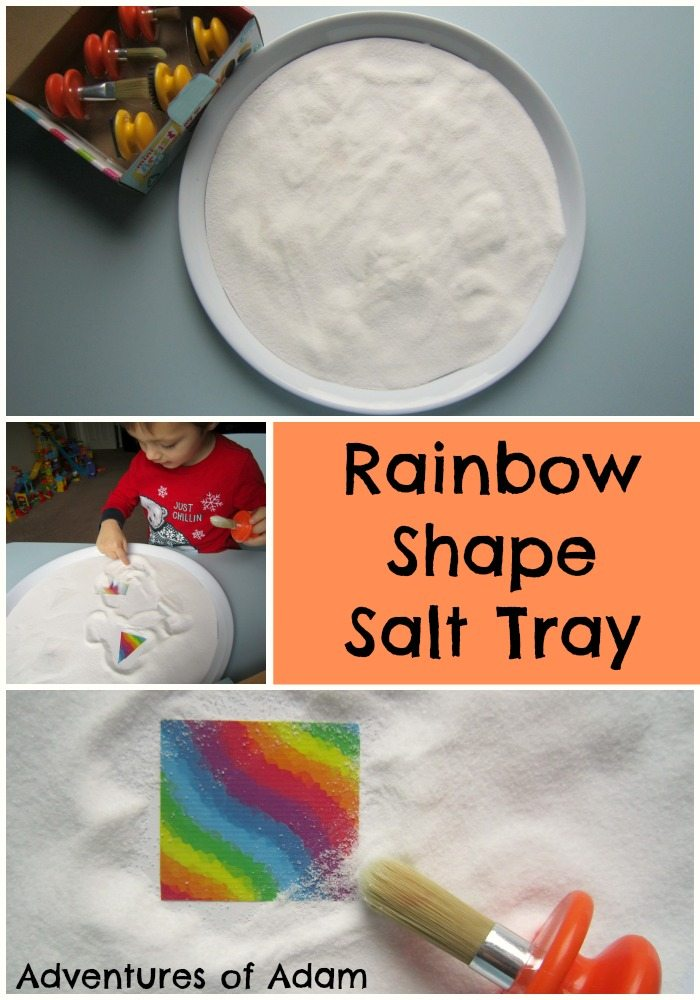 Rainbow Shape Salt Tray Adventures of Adam
