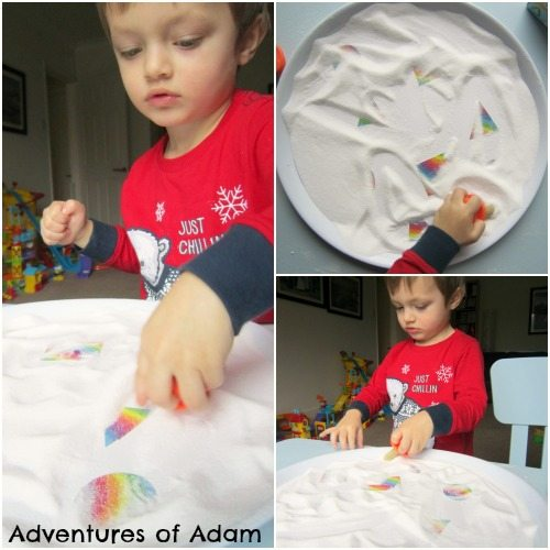 Adventures of Adam Rainbow shape salt tray