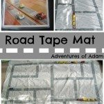 Road Tape Mat Adventures of Adam