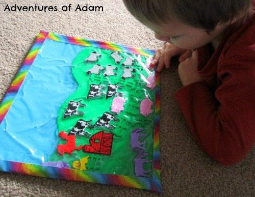 Adventures of Adam Toddler Farm Sensory Bag