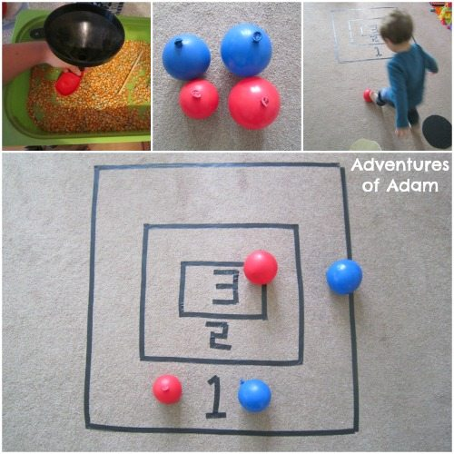Adventures of Adam toddler balloon shot put