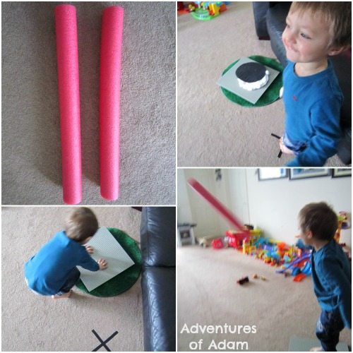 Adventures of Adam toddler pool noodle javelin