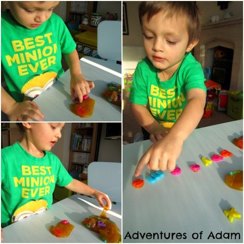 Adventures of Adam toddler slime