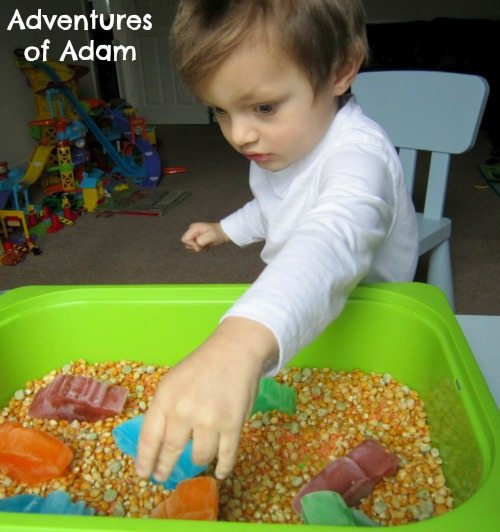 Adventures of Adam toddler frozen dinosaurs