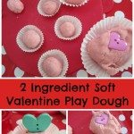 Adventures of Adam 2 Ingredient Soft Valentine Play Dough