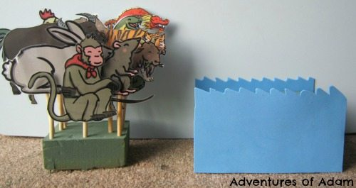 Adventures of Adam Chinese New Year story puppets