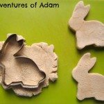 Adventures of Adam Cinnamon Play Dough Rabbits