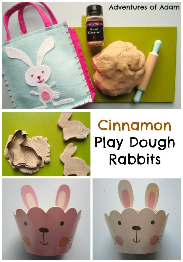 Cinnamon Play Dough Rabbits Adventures of Adam