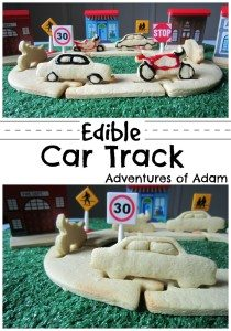 Edible Car Track Adventures of Adam