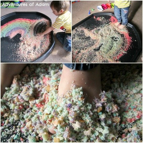 Adventures of Adam Edible Rainbow Bread Tuff Spot