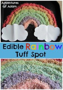 Adventures of Adam Edible Rainbow Tuff Spot