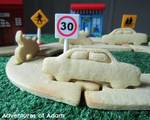 Adventures of Adam Edible cars
