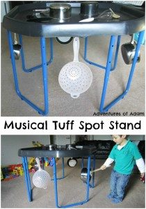 Musical Tuff Spot Stand Adventures of Adam