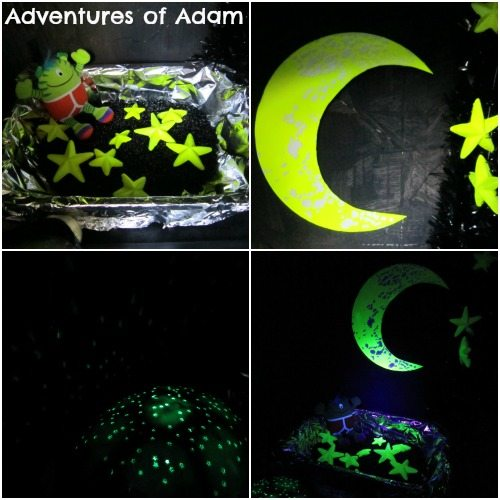 Adventures of Adam Neon space fort