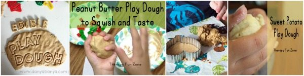 Adventures of Adam Peanut edible play dough