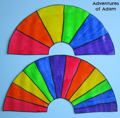 Adventures of Adam Rainbow sequencing