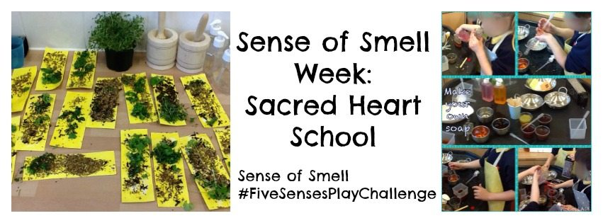 Adventures of Adam Sense of Smell Week Sacred Heart School