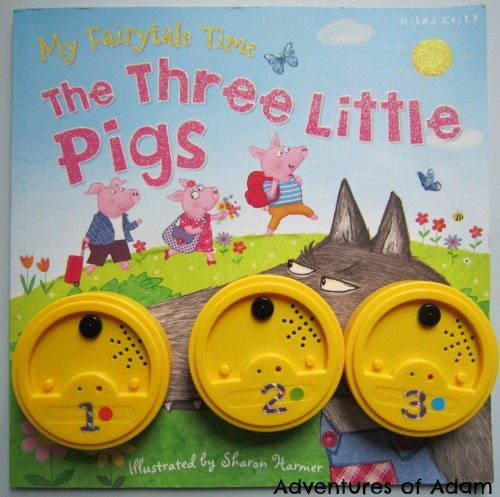 Adventures of Adam Three Little Pigs Talking Tins