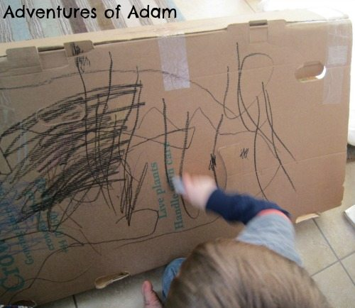 Adventures of Adam Toddler drawing