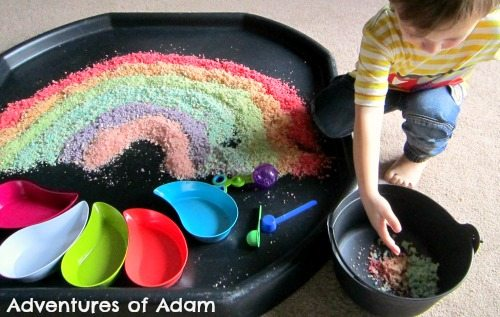 Adventures of Adam Toddler rainbow play