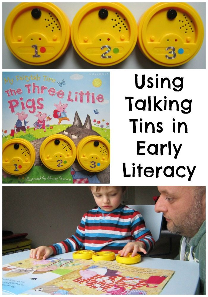 Using Talking Tins in Early Literacy