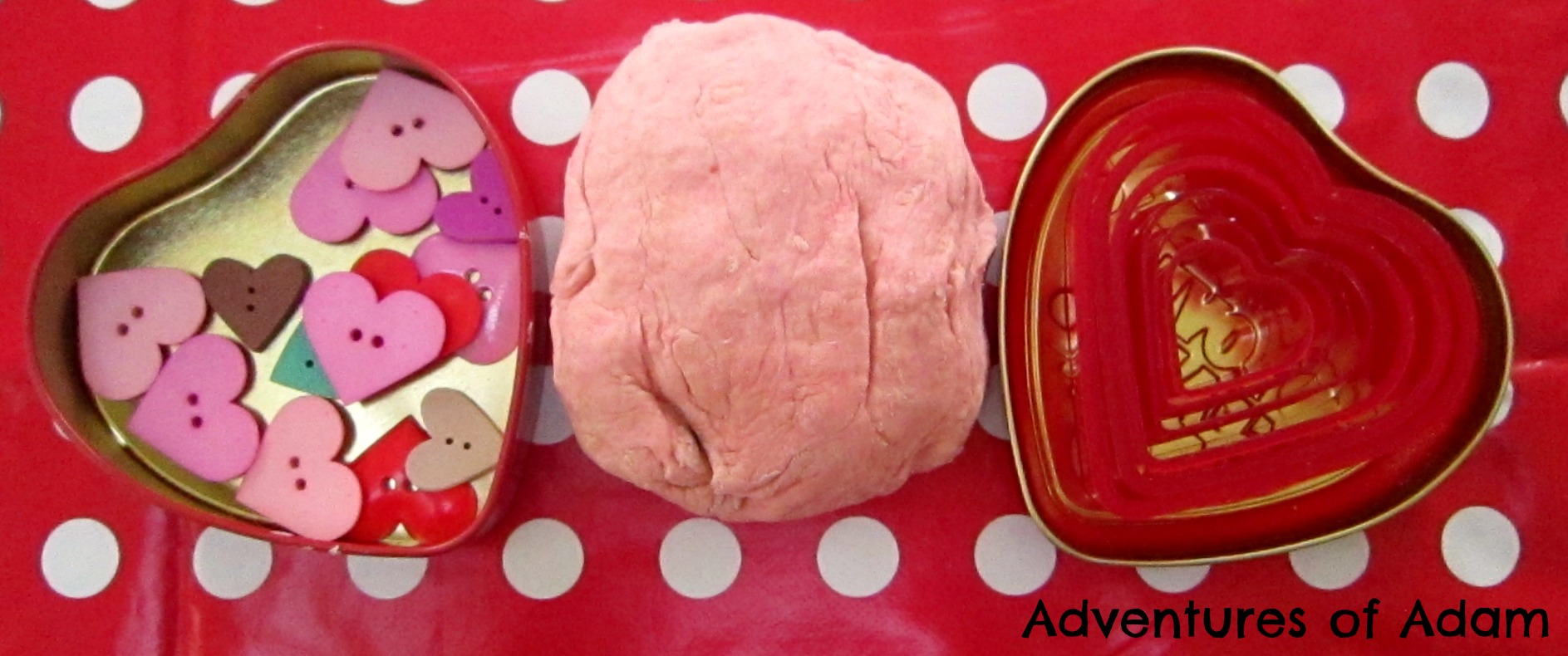 Adventures of Adam Valentine Play Dough