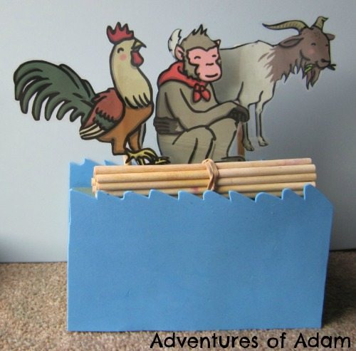 Adventures of Adam Year of the goat monkey and rooster