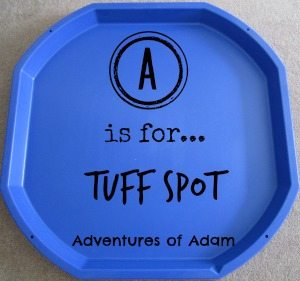 A is for Tuff Spot