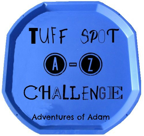 Adventures of Adam Tuff Spot A-Z Challenge Logo
