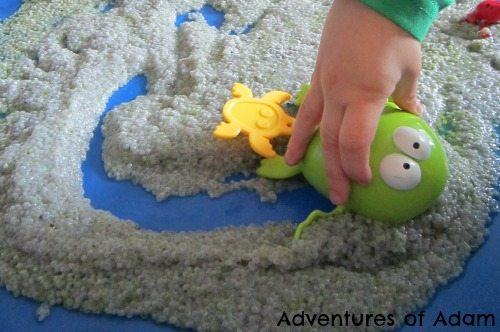 Adventures of Adam Basil seed toddler play