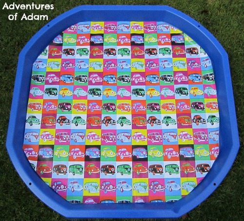 Adventures of Adam Campervan DIY Tuff Spot Mat