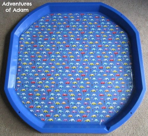 Adventures of Adam Cars DIY Tuff Spot Mat