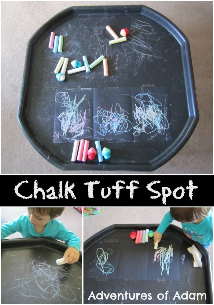 Chalk Tuff Spot Adventures of Adam
