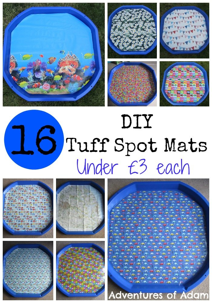 Make your own Tuff Spot Mats