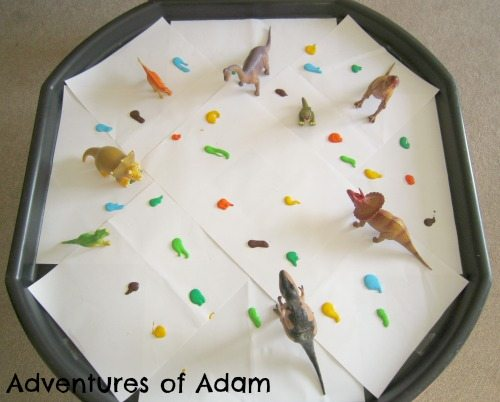 Adventures of Adam Dinosaur Paint Tuff Spot