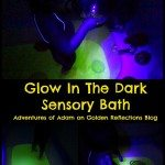 Adventures of Adam Glow in the dark sensory bath