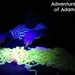 Adventures of Adam Glow in the dark spaghetti tuff spot