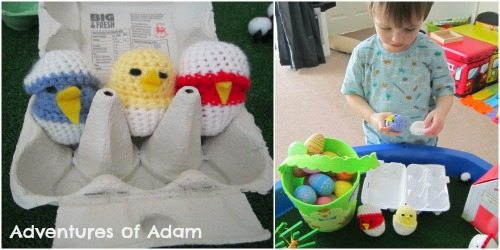 Adventures of Adam Hand made Easter chicks