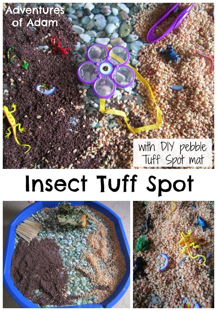 Insect Tuff Spot Adventures of Adam Tuff Spot A to Z Challenge